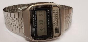 Vintage Seiko C359-5010 Calculator Model
