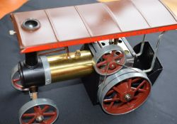 Mamod Steam Traction Engine In Box