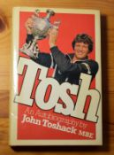 Signed Edition Tosh Autobiography by John Toshack