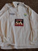Cricketer Robert Croft Signed Shirt