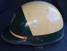 USA Police Chips Style Shiny Motorbike Helmet