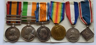 Group Of Six Medals Scottish Rifles