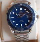 Excellent Omega Seamaster Co-Axial Chronometer Full Set