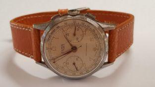 Vintage Olma 'Large Eyes' Chronograph Landeron Movement