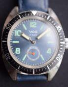 Vog Diver's Style Wristwatch - no reserve