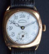 Vintage Eberhard GP Trench Watch
