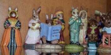 Collection Of Bunnykin Figures