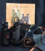 Excellent Leitz 8X40B Binoculars In Leather Case