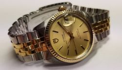 Excellent Tudor Rolex Prince Oysterdate Gentleman's Watch