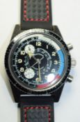 Vintage Exactima Divers Chronograph Style Watch
