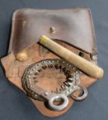 Leather Cased Military Collapsible Saw