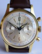 Triple Signed Gallet Chronograph Serviced
