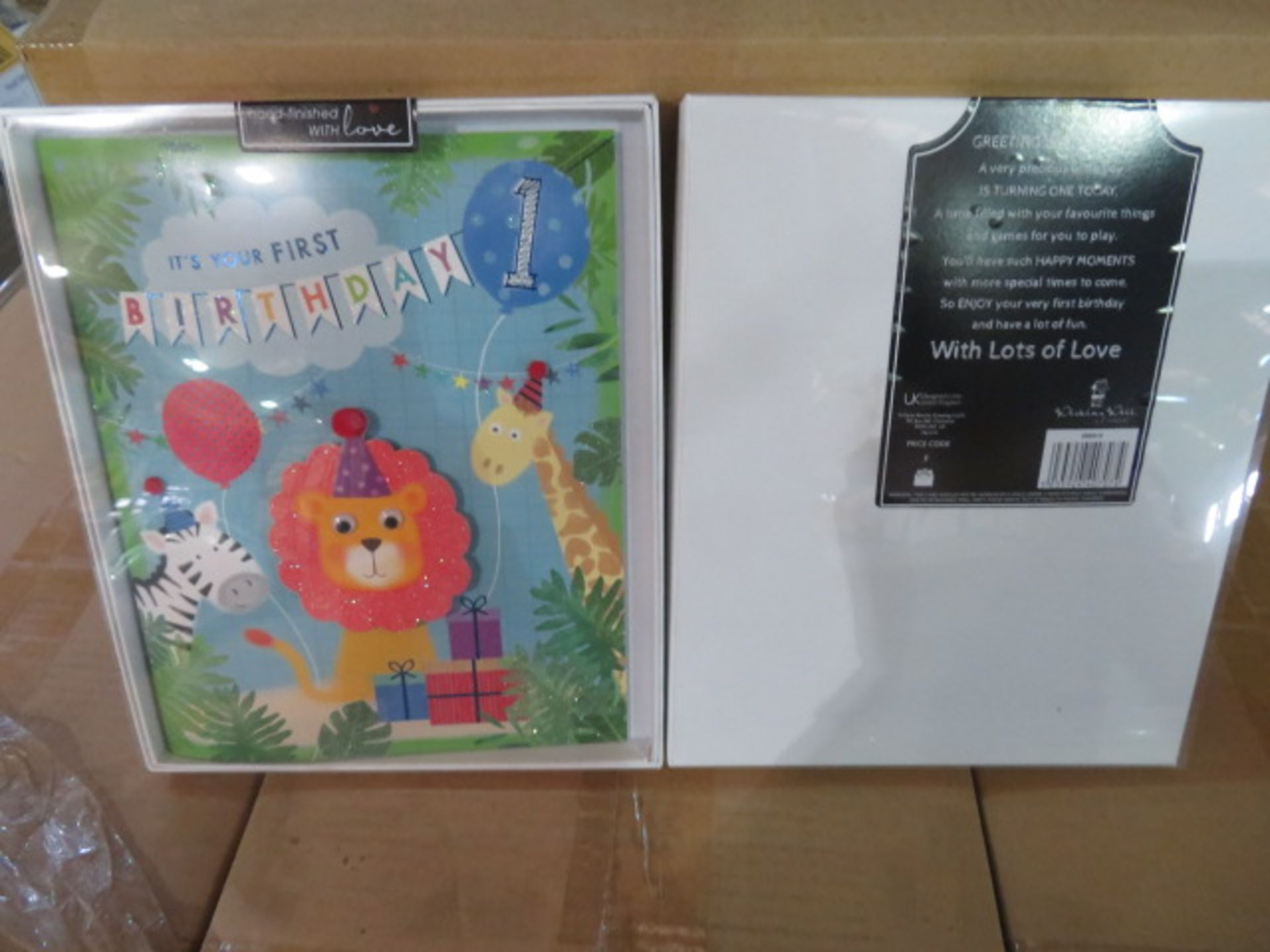 Lot 44 - (1) PALLET TO CONTAIN 414 x Brand New LUXURY GREETING CARDS IN GIFT BOX. RRP £6.99 EACH. UK PA...
