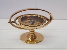 Solid Brass Gyroscope