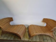 Wicker Chairs Vintage very Collectable and Rare!