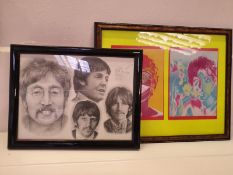 Two Beatles Pictures