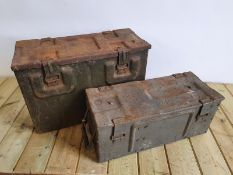 WW2 Ammunition Boxes