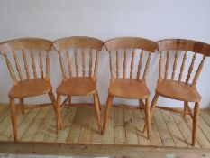 Pine Farmhouse Chairs