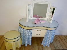 Vintage 1950s Dressing Table
