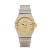 2015 Omega Diamond Stainless Steel & Yellow Gold - 123.20.27.20.57.002