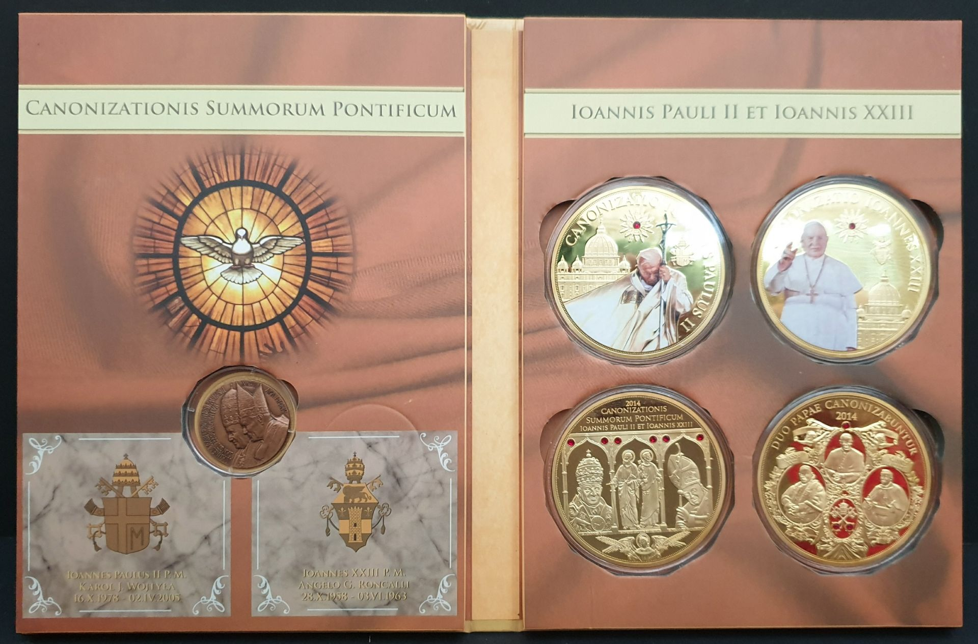 Lot 13 - Collectable Coins Canonisation of Pope Paul II