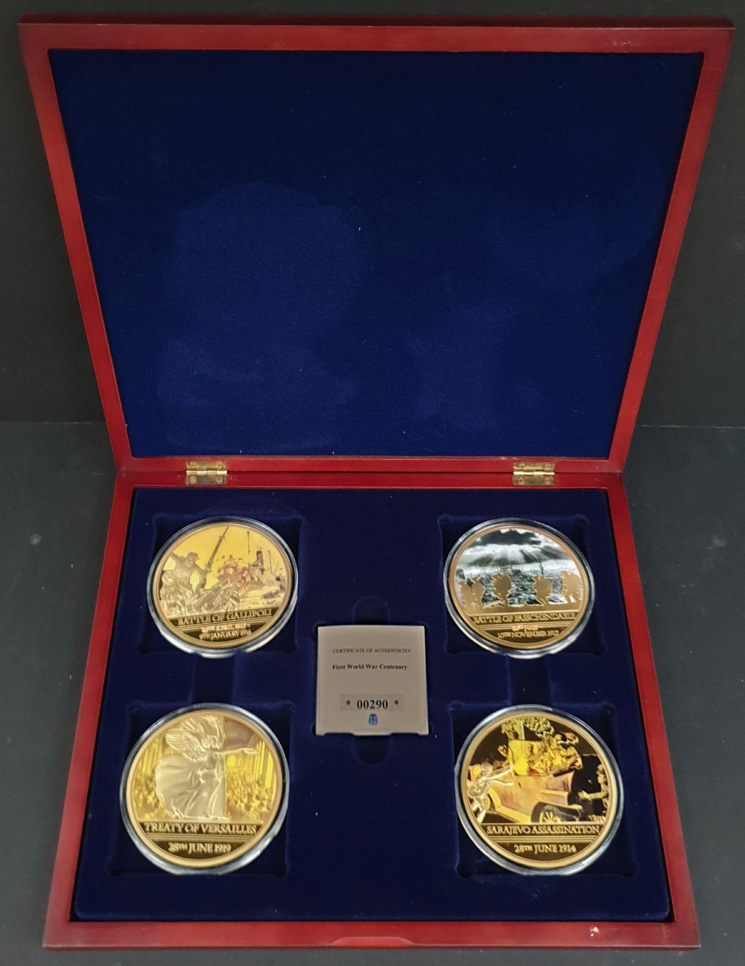Lot 10 - Collectable Coins Set 4 First World War Centenary