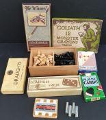 Vintage Assorted Games etc