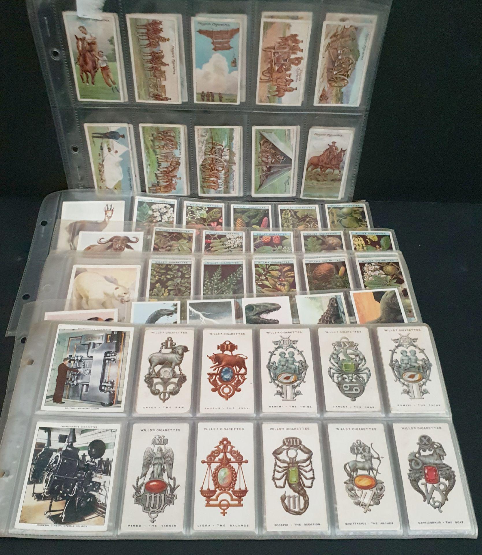 Lot 49 - Antique Vintage 100 Cigarette Cards