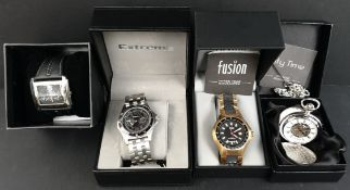 Collectable Parcel of 4 Assorted Wrist Watches