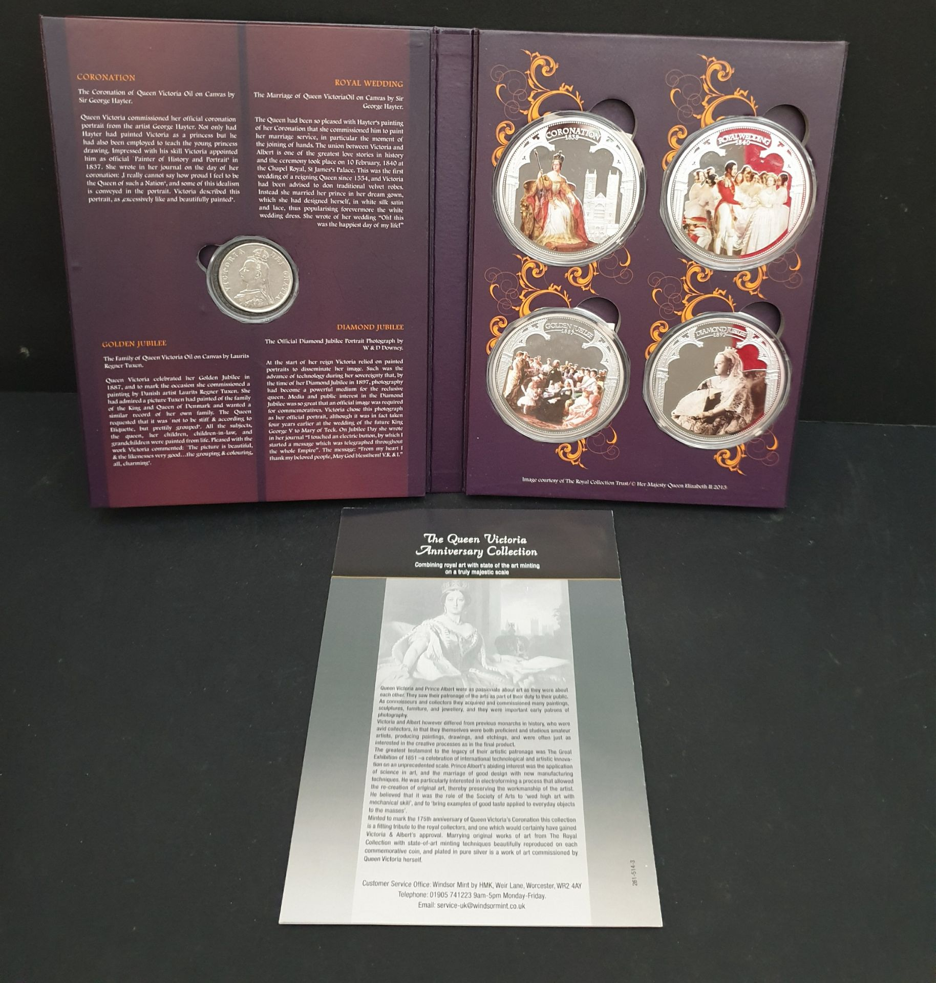 Lot 14 - Collectable Coins Queen Victoria Anniversary Collection