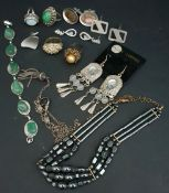 Parcel of Silver Coloured Costume Jewellery