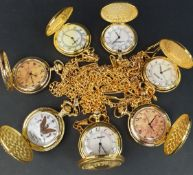 Assorted Parcel of 7 Pocket Watches