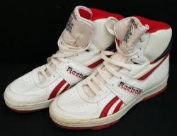 Vintage Shoes Reebok Hi Top BB5000 Size 9 Trainers Original Box