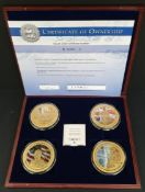 Collectable Coins Set 4 70th Anniversary VE Day