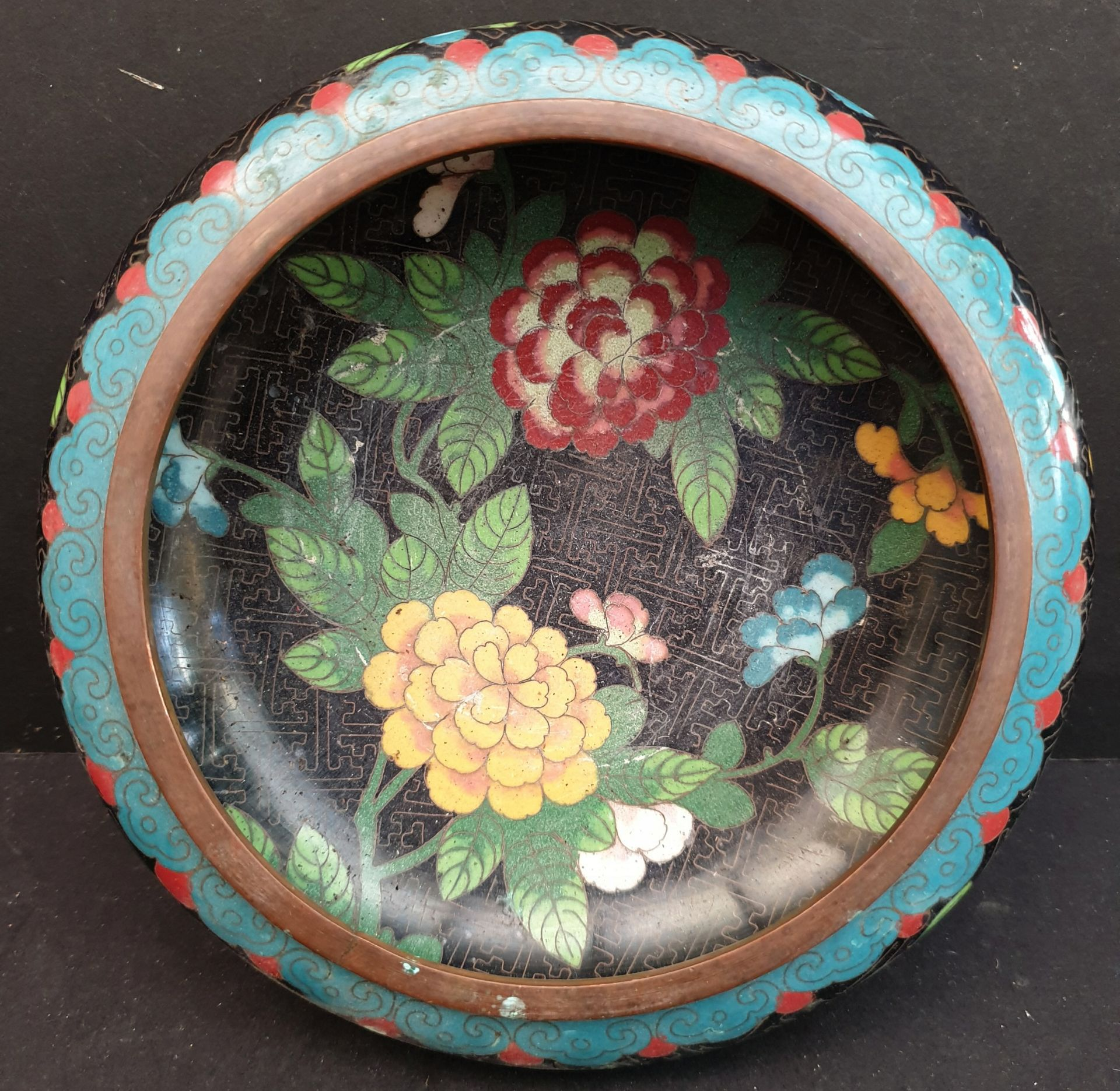 Lot 43 - Vintage Assorted Ceramics Includes Wedgwood, Cloisonné & Thrifco