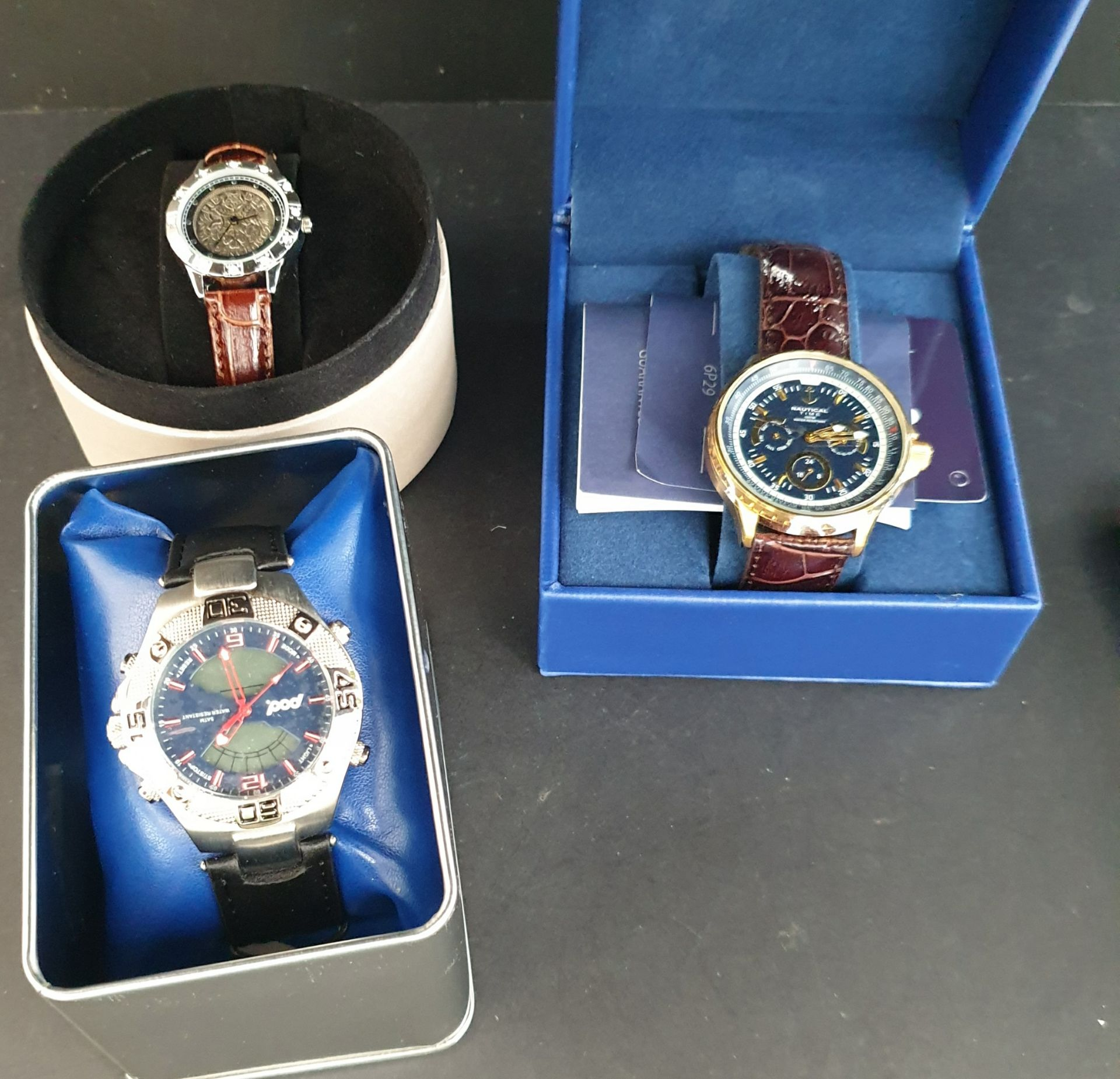 Lot 25 - Collectable Parcel of 3 Assorted Wrist Watches