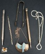 Parcel of Sterling Silver Jewellery & Other Items