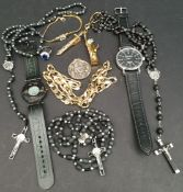 Assorted Parcel of Costume Jewellery & Watches