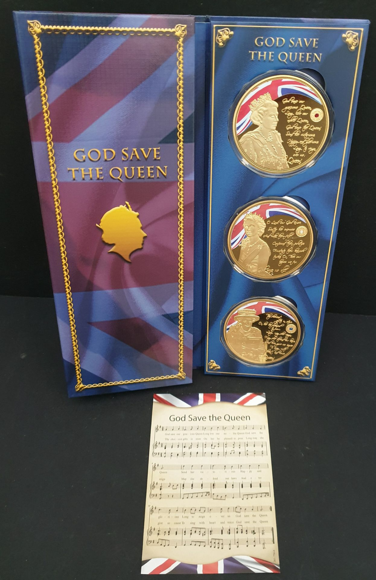 Lot 12 - Collectable Coins God Save The Queen Set