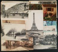 Antique Parcel of 50 Continental & World Postcards