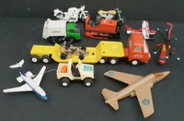 Vintage Assorted Die Cast Vehicles