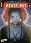 Vintage Parcel of 25 Collectable Comics 2000 AD Judge Dredd