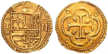 Spanish Doubloon - Gold Coin