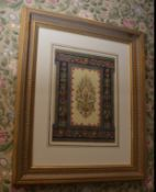 Rare original paper hanging lithograph from the great exhibition