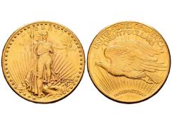 United States. 20 dollars. 1925. Philadelphia. (Km-131)
