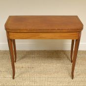 Mellow Mahogany Regency Antique Tea Table / Console Table