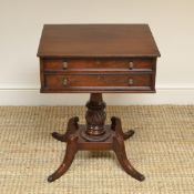 Fine Regency Mahogany Antique Side / Lamp Table