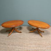 Pair of Regency Design Side Tables / Coffee Tables