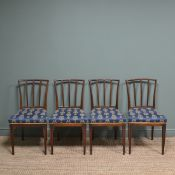 Set of Four 19th Century Mahogany Antique Dining Chairs