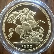 2000 Gold Proof Double Sovereign